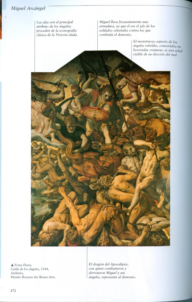 Caída de los ángeles. Frans Floris. 1544.