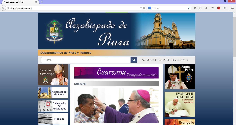 Web Arzobispado
