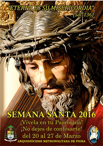 afiche semana santa 2016