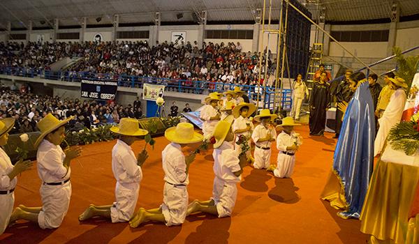 Inauguración congreso mariano. Fotos Arzobispado de Piura